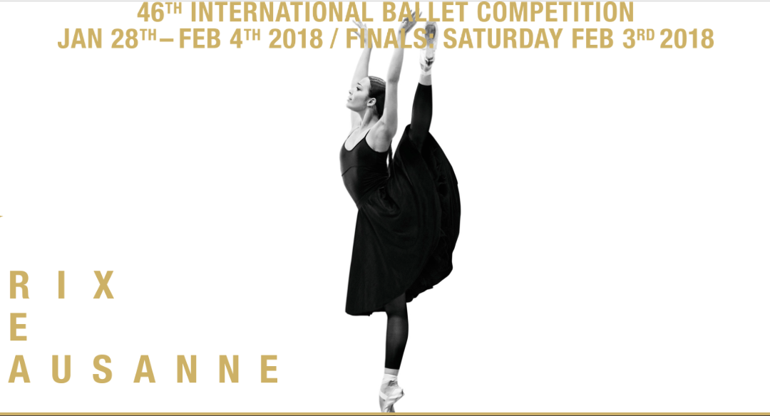 46th edition of the Prix de Lausanne!