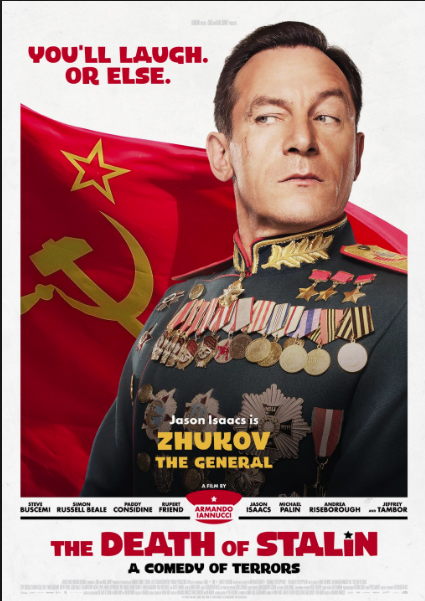 The death of Stalin, a black comedy.
