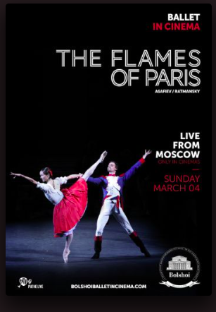 The Flames of Paris, live from Bolchoi Ballet, Moscow