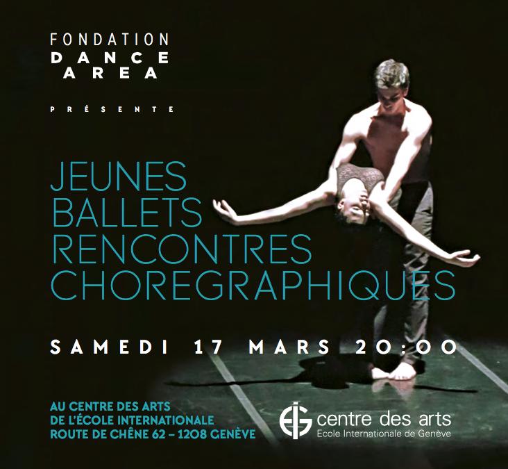 Jeunes Ballets, Rencontres Chorégraphiques.