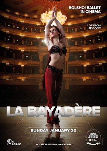 LA BAYADÈRE : the classical masterpiece from the BOLSHOI BALLET, MOSCOW!