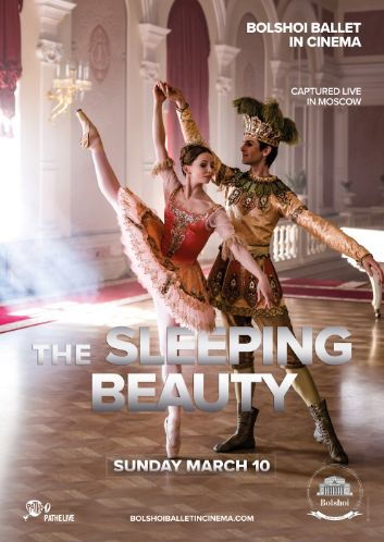 THE SLEEPING BEAUTY, direct transmission from the Bolshoi Ballet Moscow!