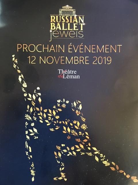 Russian Ballet Jewels, November 12, 2019