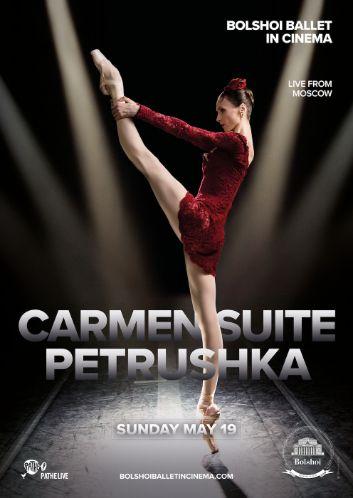 BOLSHOI: CARMEN SUITE / PETROUCHKA